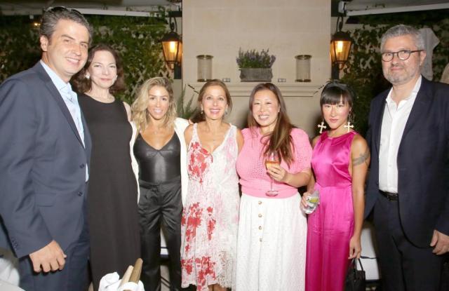 Ariel Ohana, Aimee Troyen, Ilana Kugel, Karine Ohana, Susie Wang, Lin Lin and Laurent Ohana.