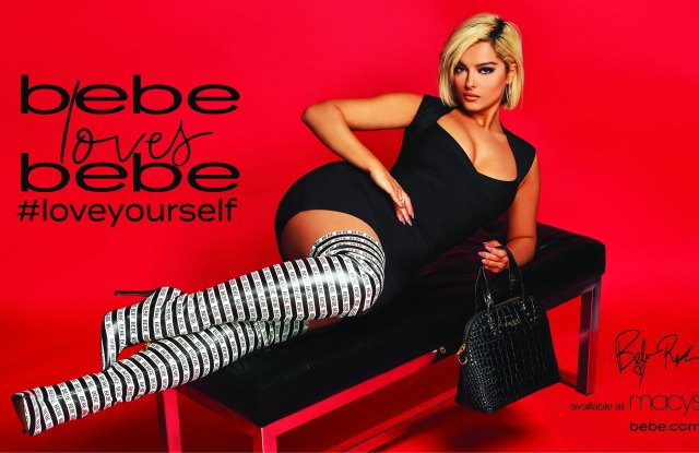 Bebe Rexha in the new campaign for Bebe that was created by Creative Playground.