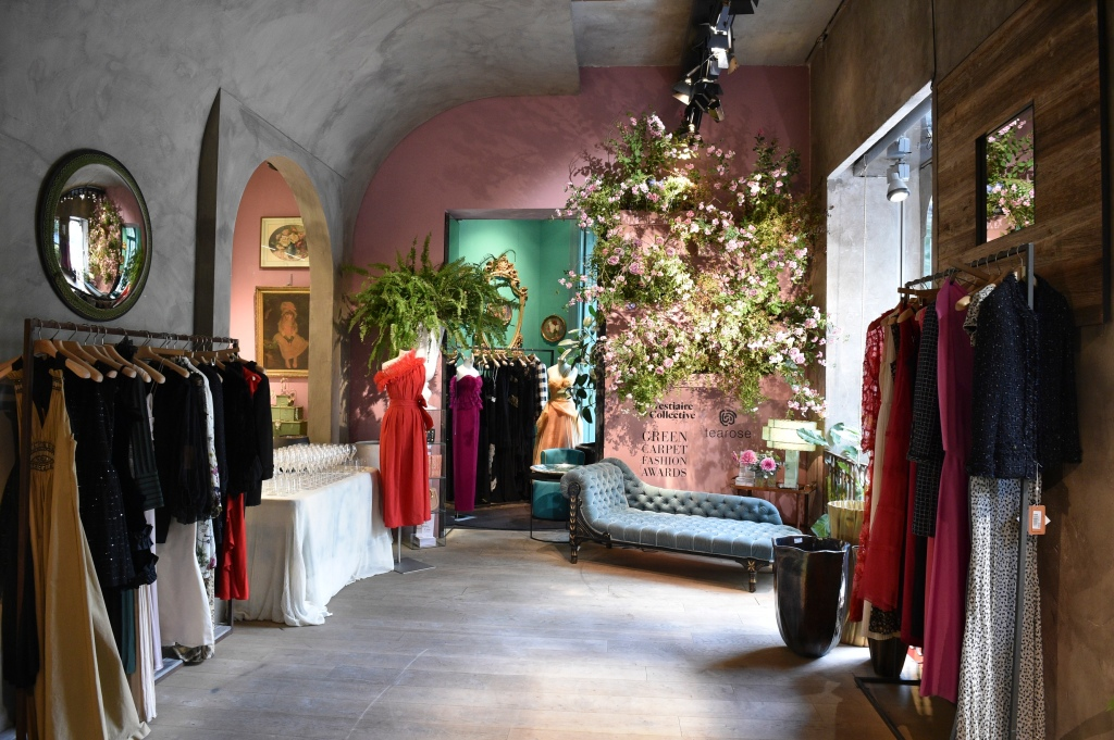The Vestiaire Collective pop-up in Milan
