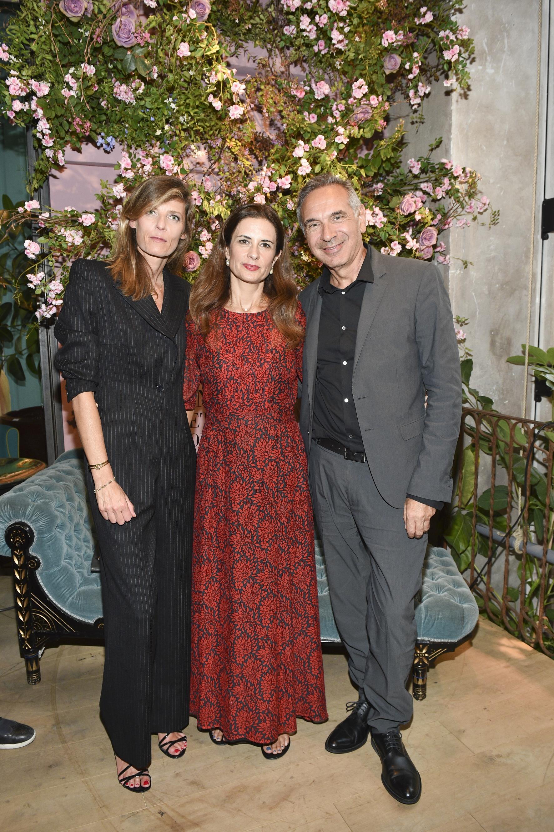 Sophie Herman;Livia Firth;Carlo Capasa
