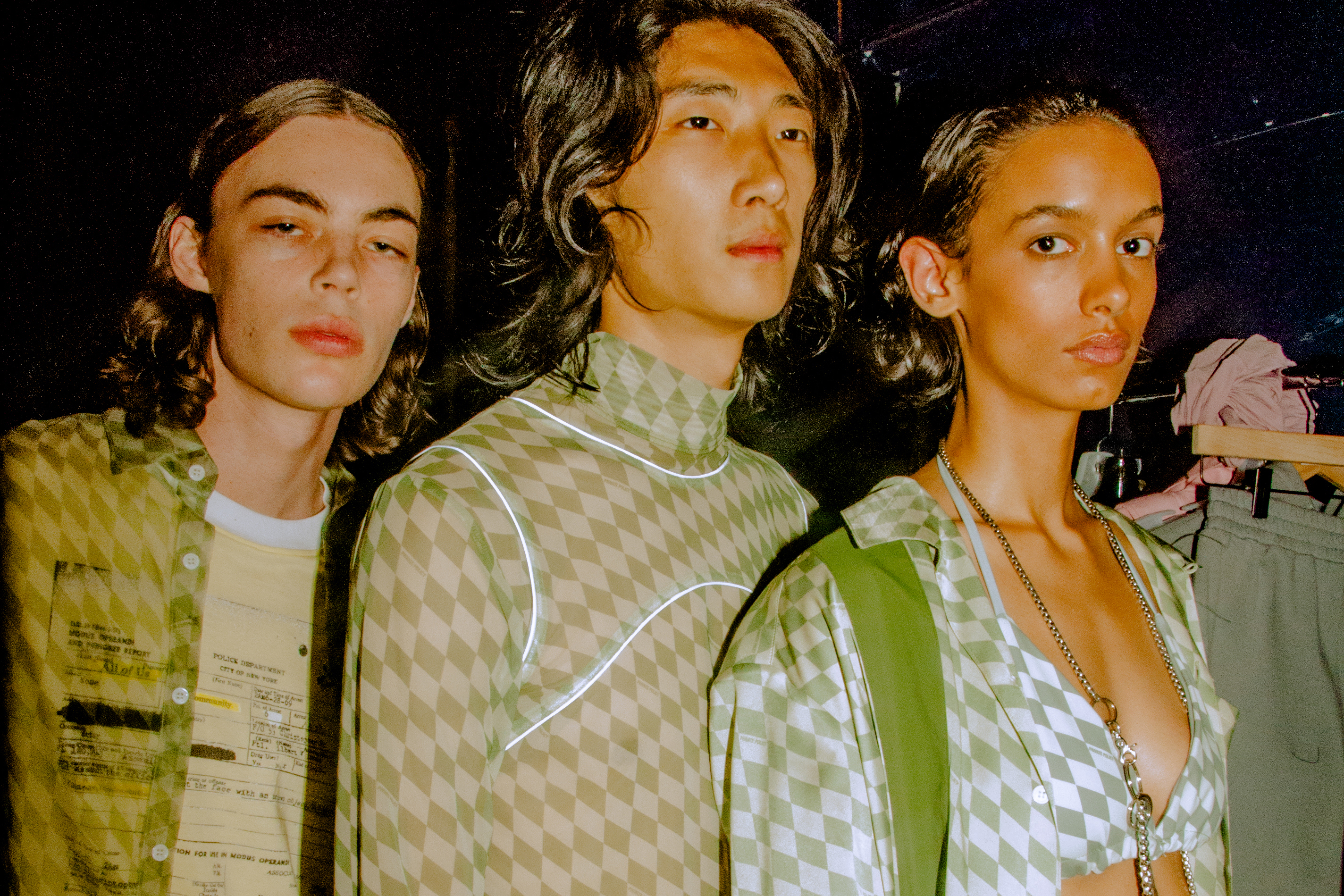 Private Policy Spring 2020 collection backstage