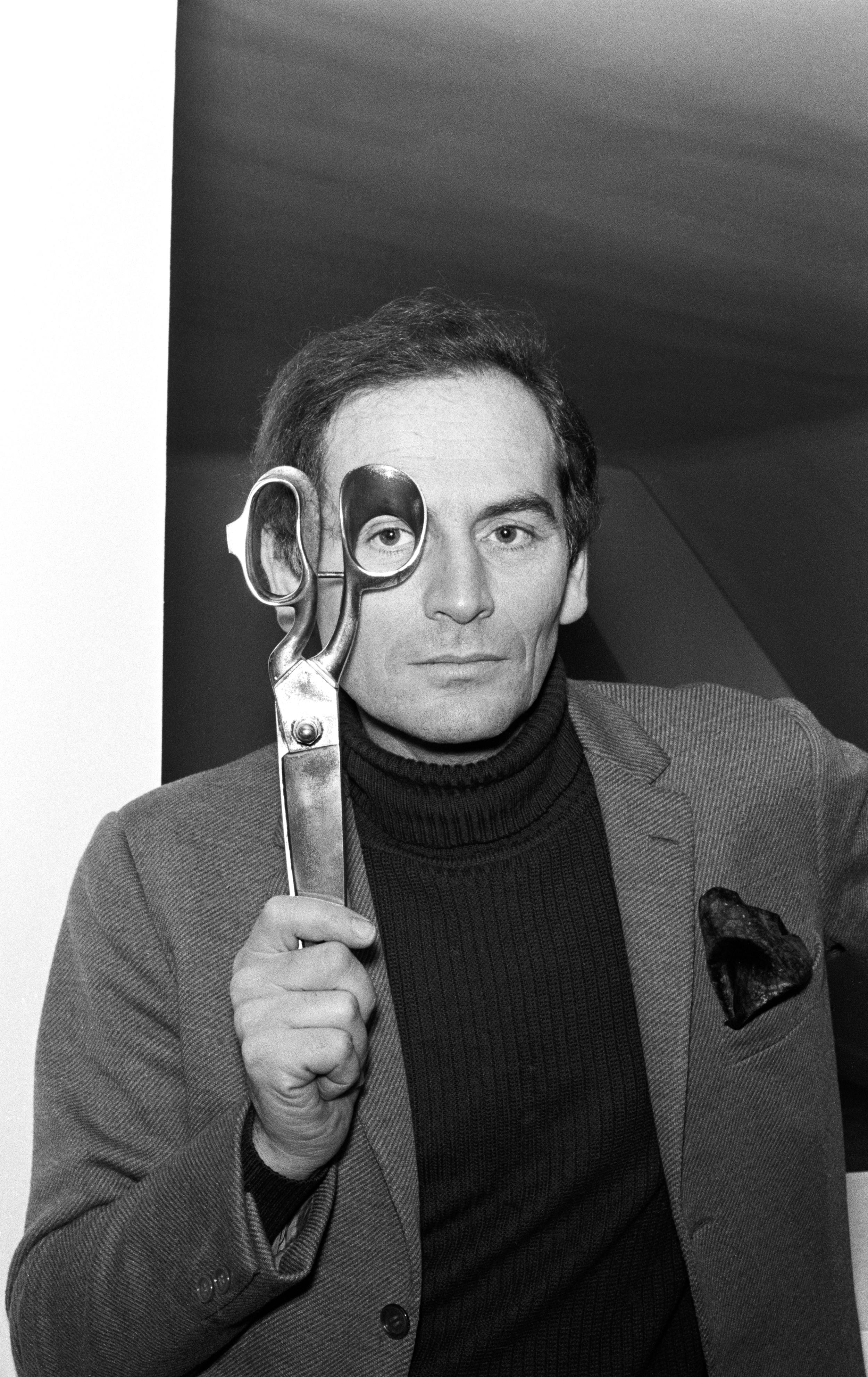 Pierre CardinPortrait Pierre Cardin, 1966