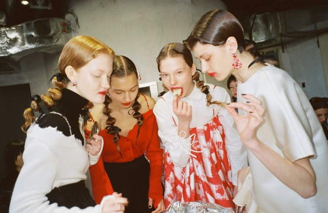 Shushu/Tong Fall 2019 runway show backstage