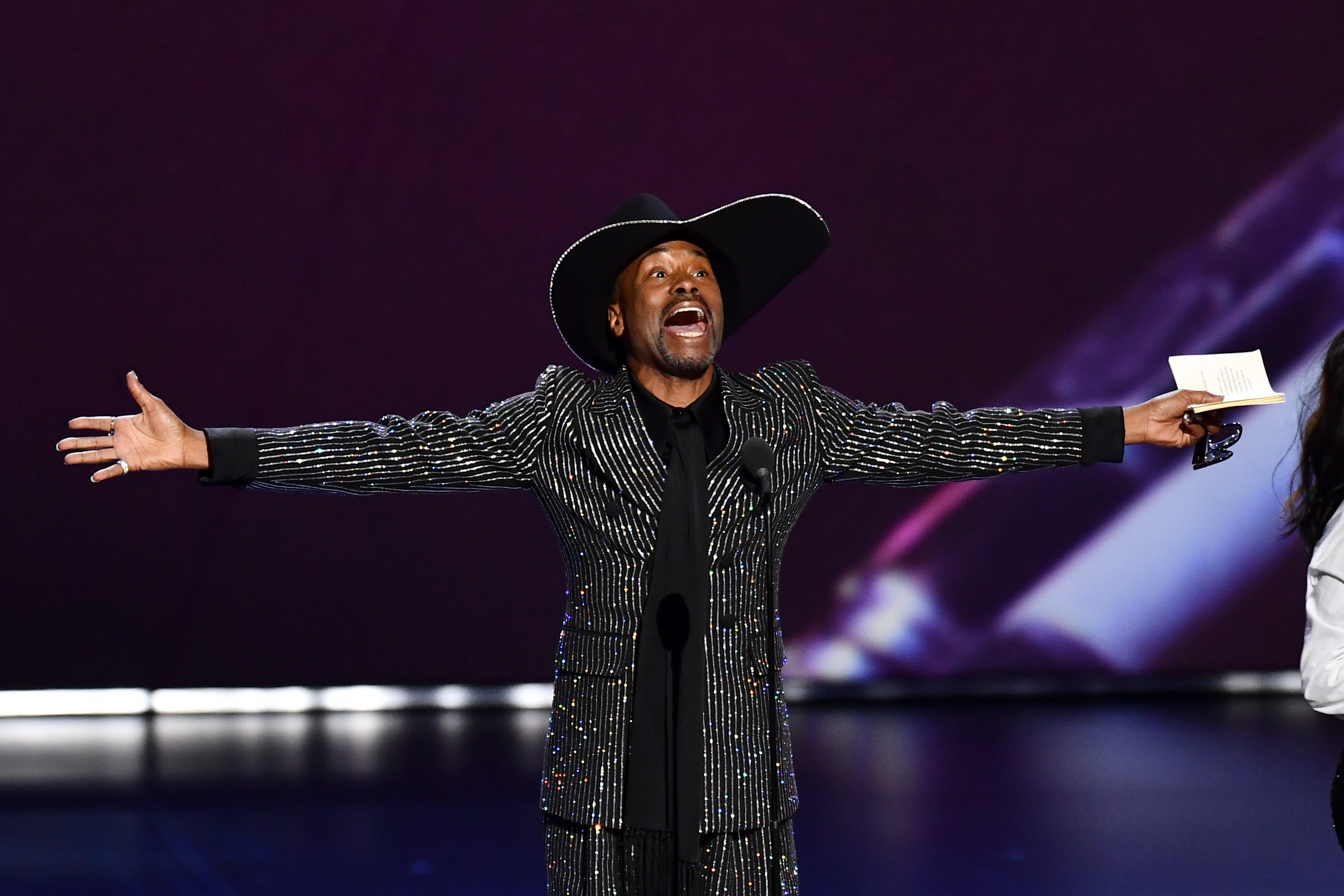 Billy Porter - Outstanding Lead Actor in a Drama Series - 'Pose'71st Annual Primetime Emmy Awards, Show, Microsoft Theatre, Los Angeles, USA - 22 Sep 2019