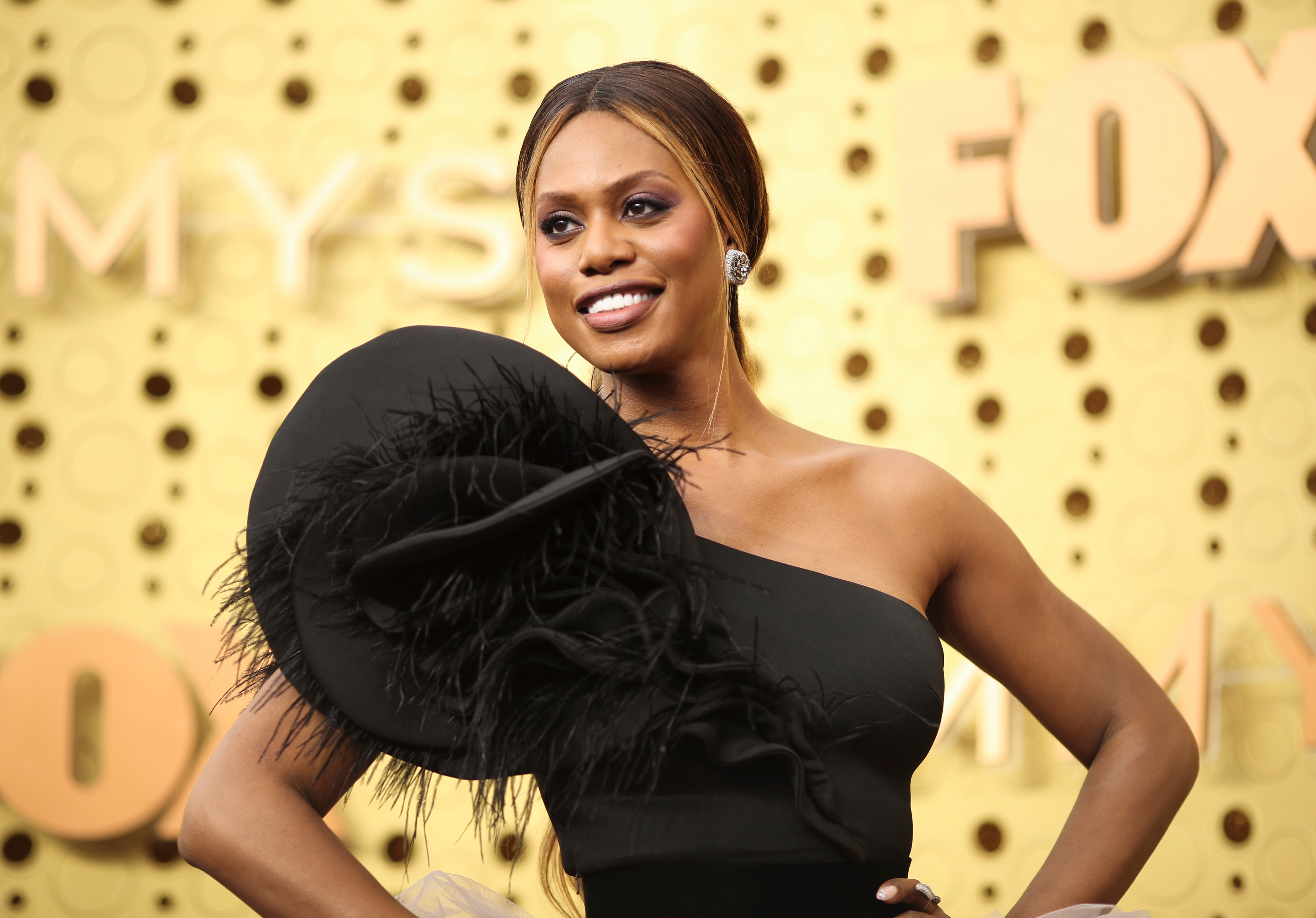 Laverne Cox 71st Annual Primetime Emmy Awards, Arrivals, Microsoft Theatre, Los Angeles, USA - 22 Sep 2019