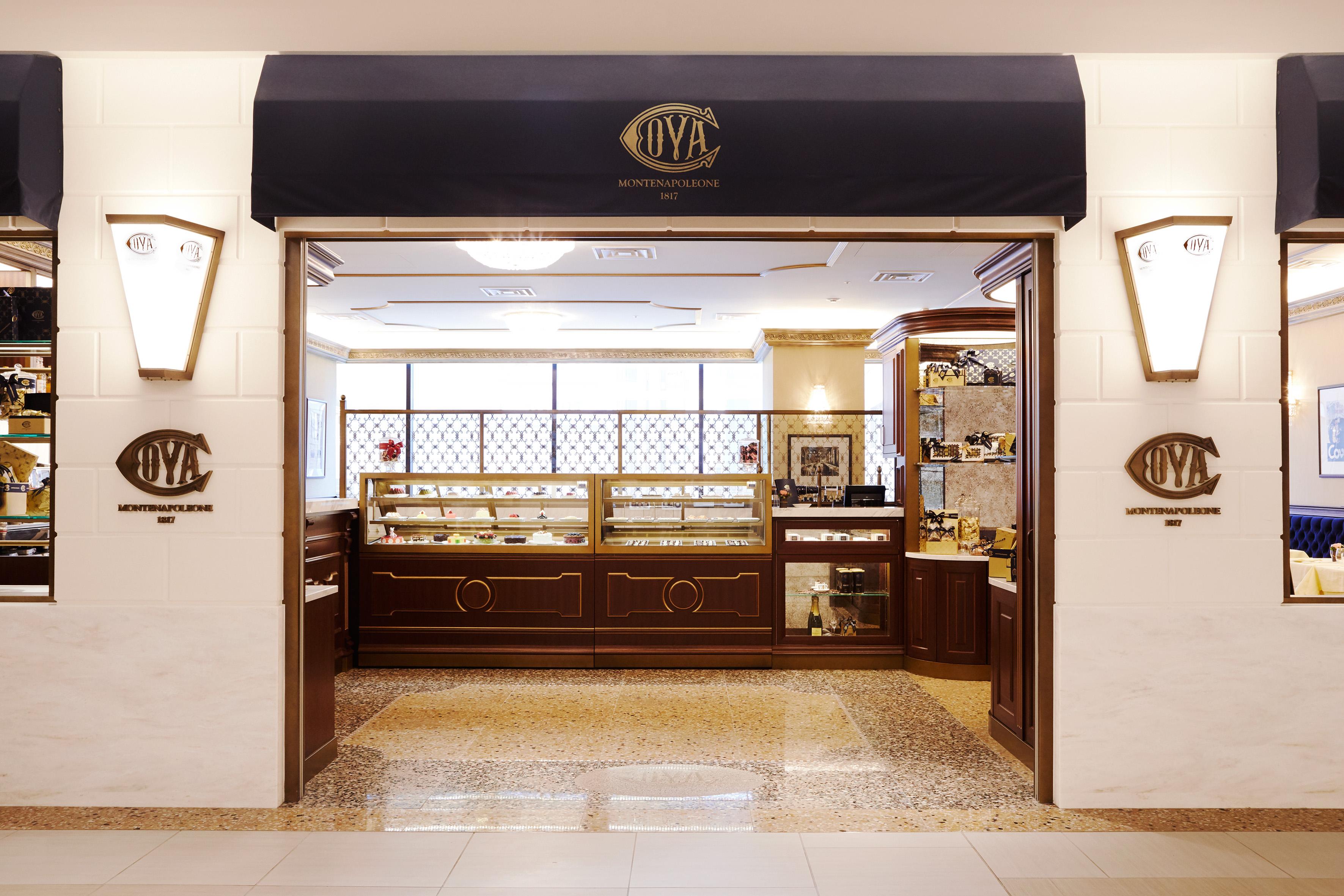 The Cova store in Tokyo.