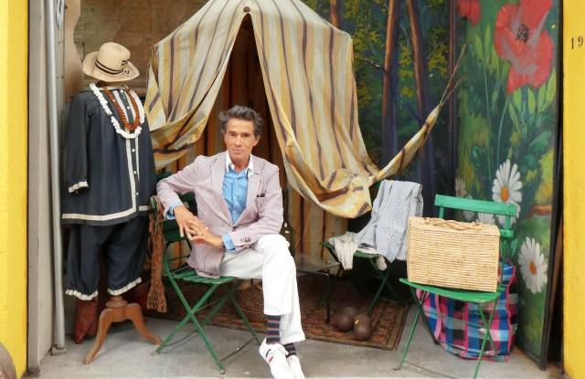 Vincent Darré flea market