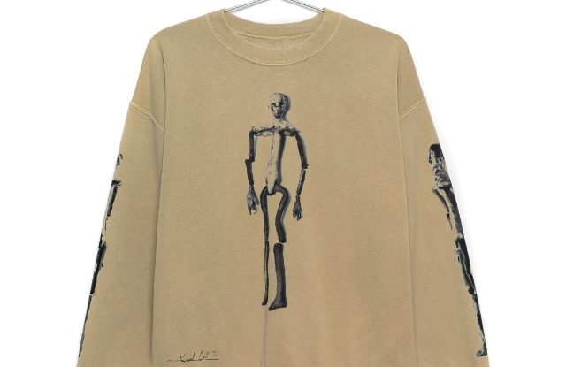 A look from the Kurt Cobain collection.