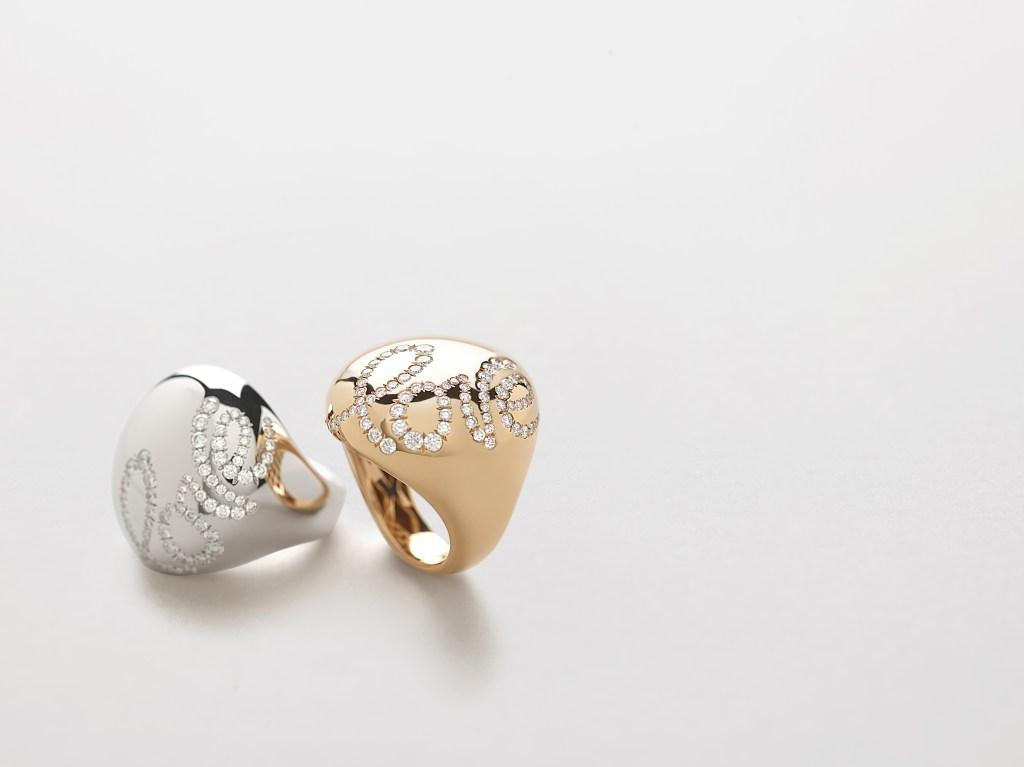 Rings from Giorgio Visconti Vie Privée collection.