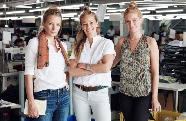 The Scott Sisters, Georgia, Sophia and Nina.