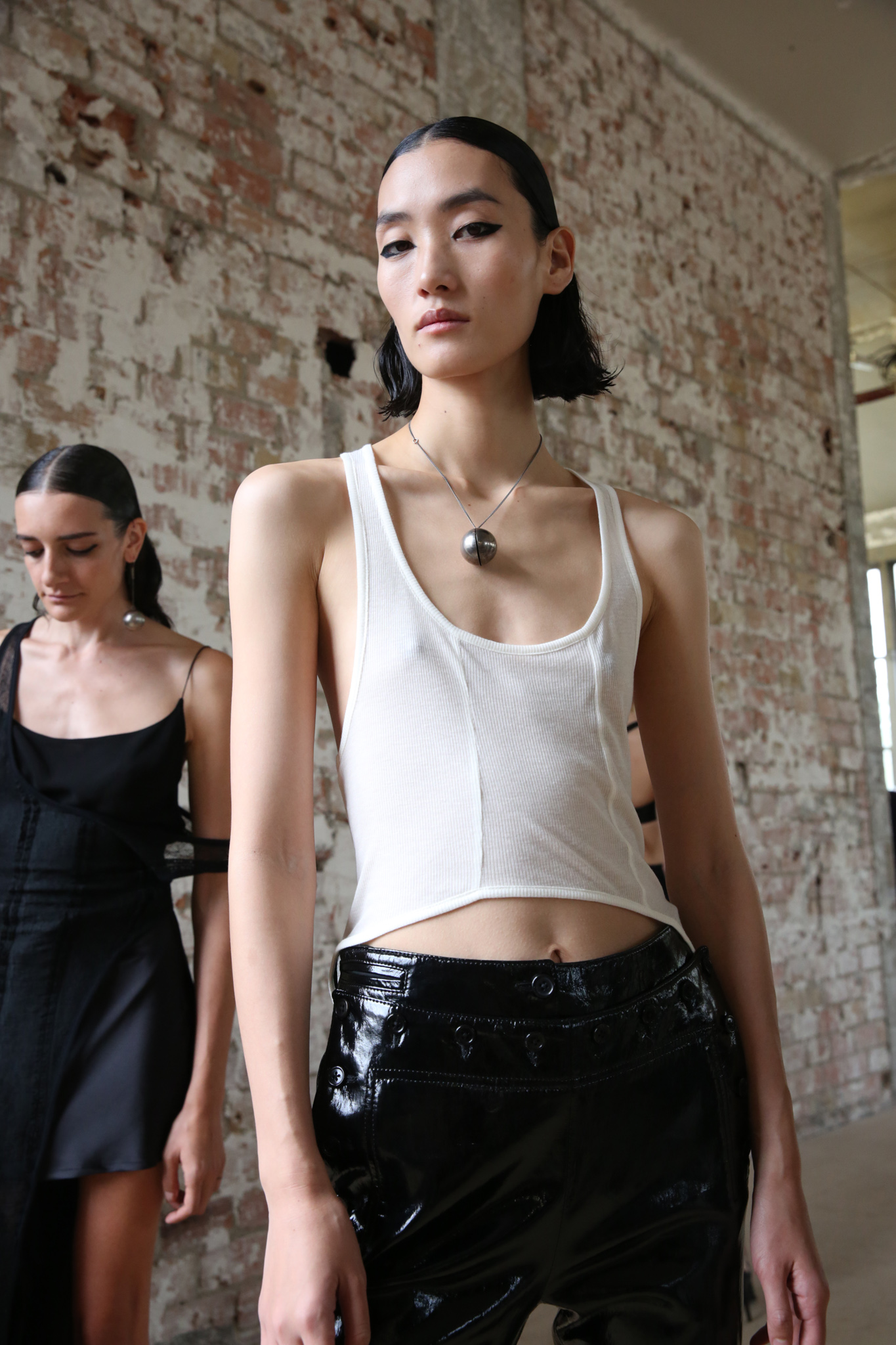 Backstage at Ann Demeulemeester RTW Spring 2020