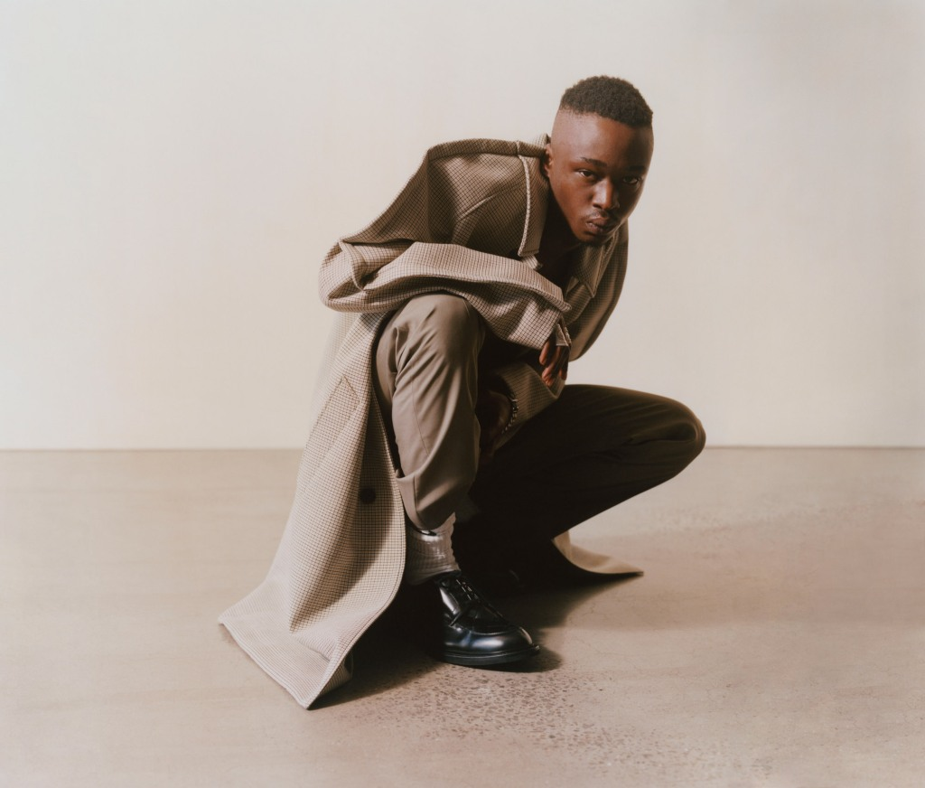 A visual from Matches' debut campaign featuring Ashton Sanders