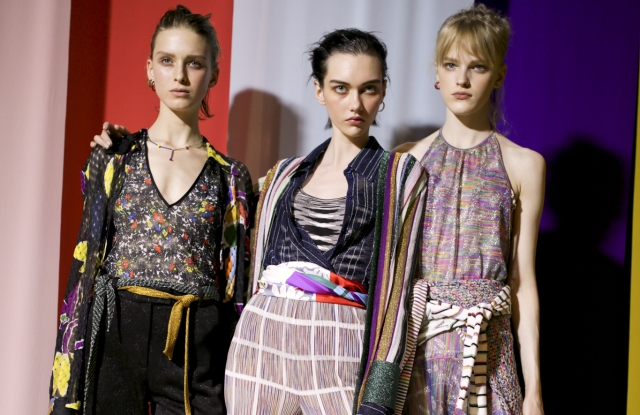Backstage Missoni RTW Spring 2020