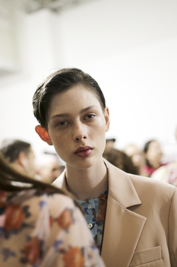 Backstage at MSGM RTW Spring 2020