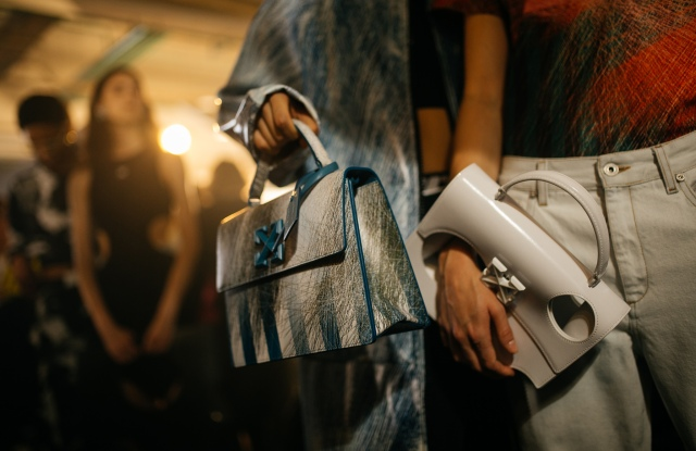 Backstage at Off-White RTW Spring 2020