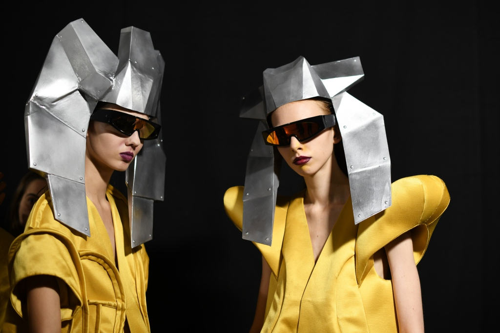 Backstage at Rick Owens RTW Spring 2020
