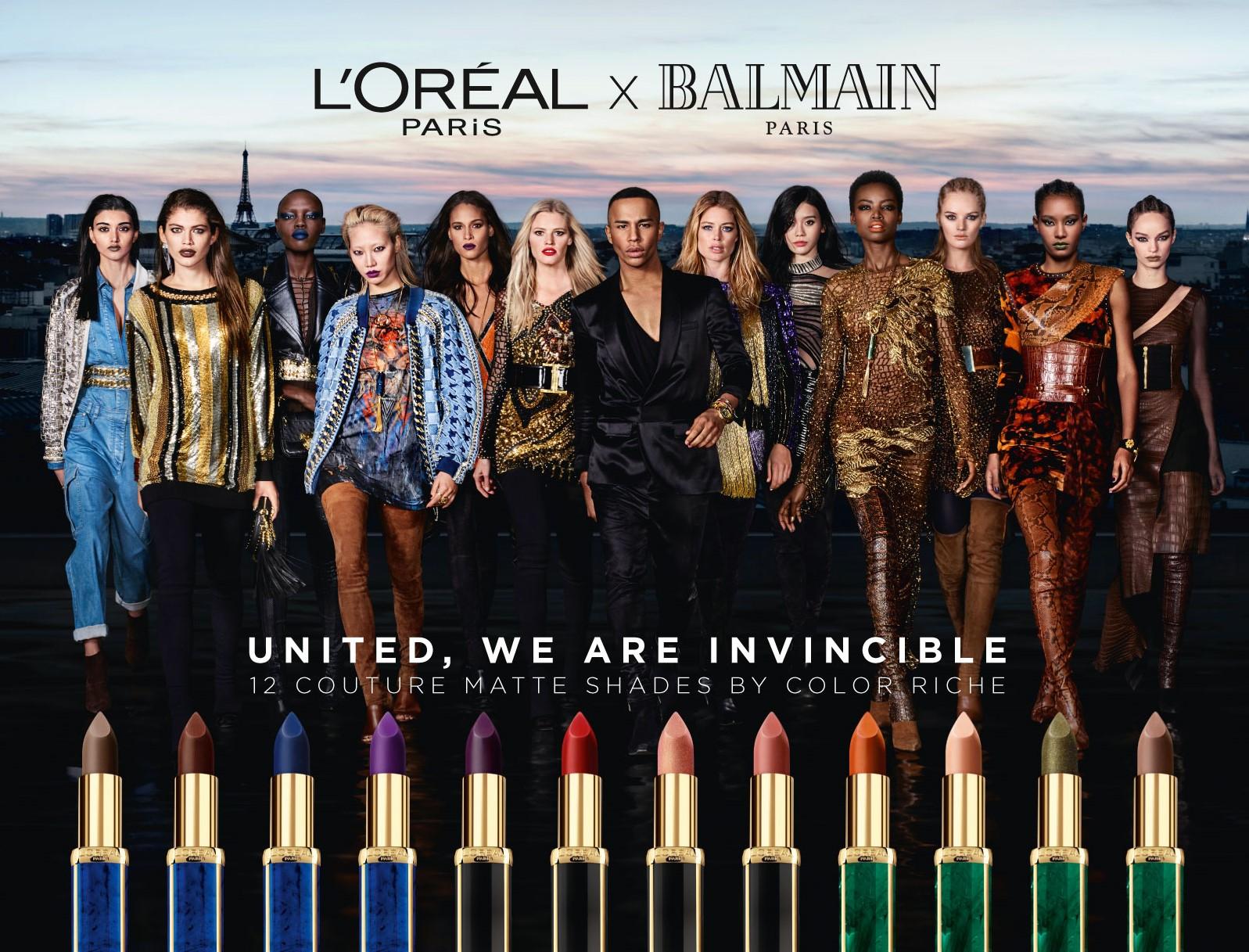 A Look at Balmain's fashion collaborations