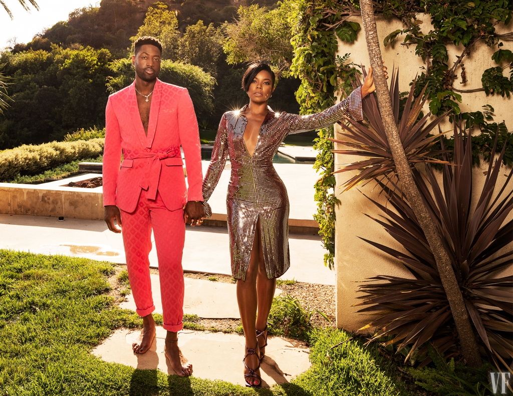 Vanity fair best dresed list 2019 dwayne wade gabrielle union