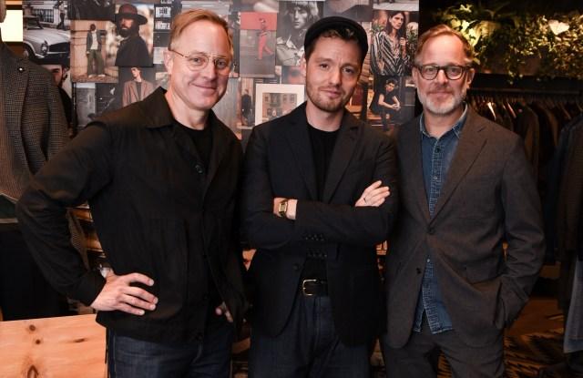 Scott Pask, Jonathan Daniel Pryce and Bruce Pask