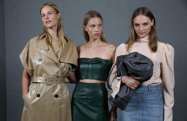 Backstage at Givenchy RTW Spring 2020