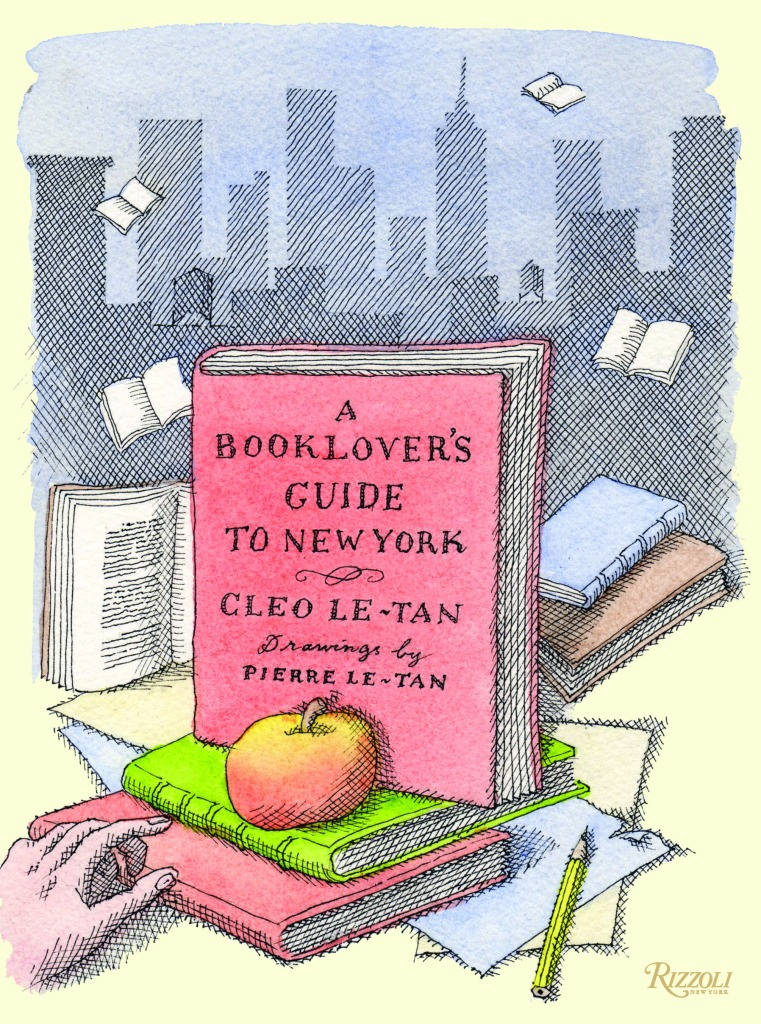 """""""A Booklover's Guide to New York"""" by Cleo Le-Tan."""