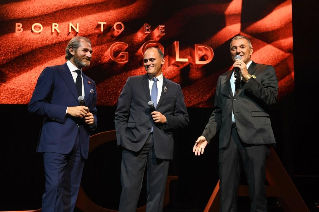 Fabrizio Buonamassa Stigliani, Antoine Pin and Jean-Christophe Babin.