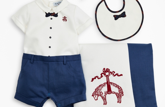 The Brooks Brothers infant collection