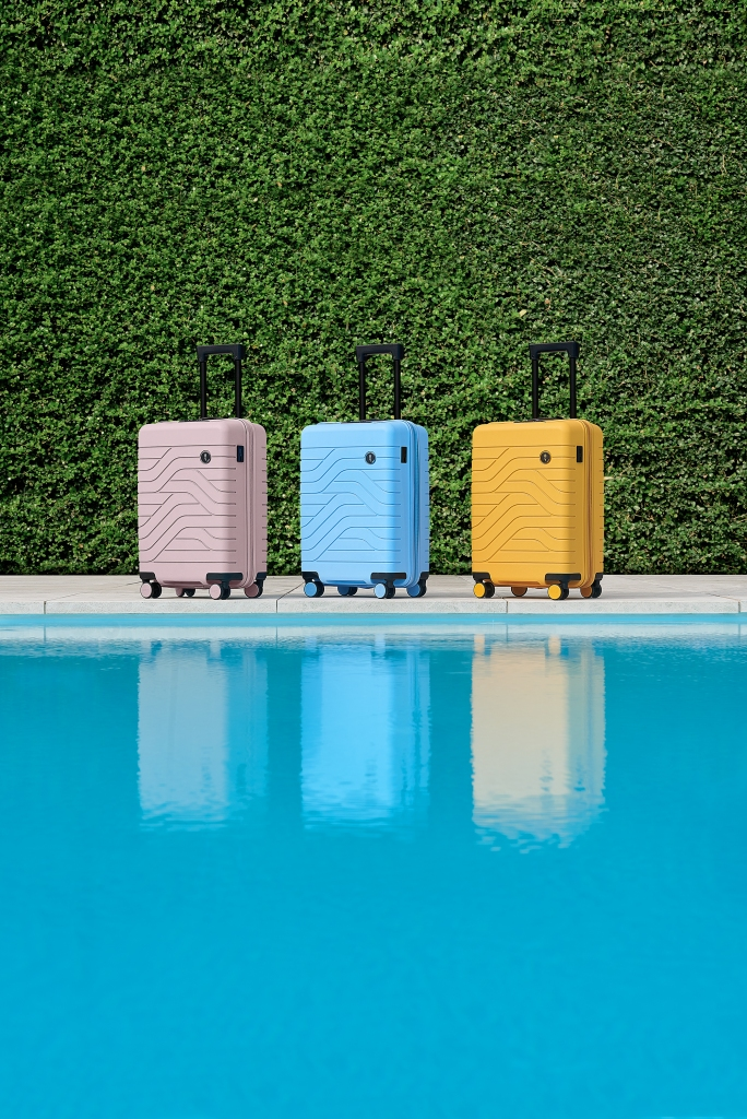 Suitcases from Bric's BY brand