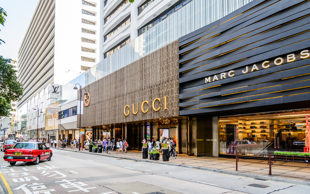 Hong Kong Canton Road retail