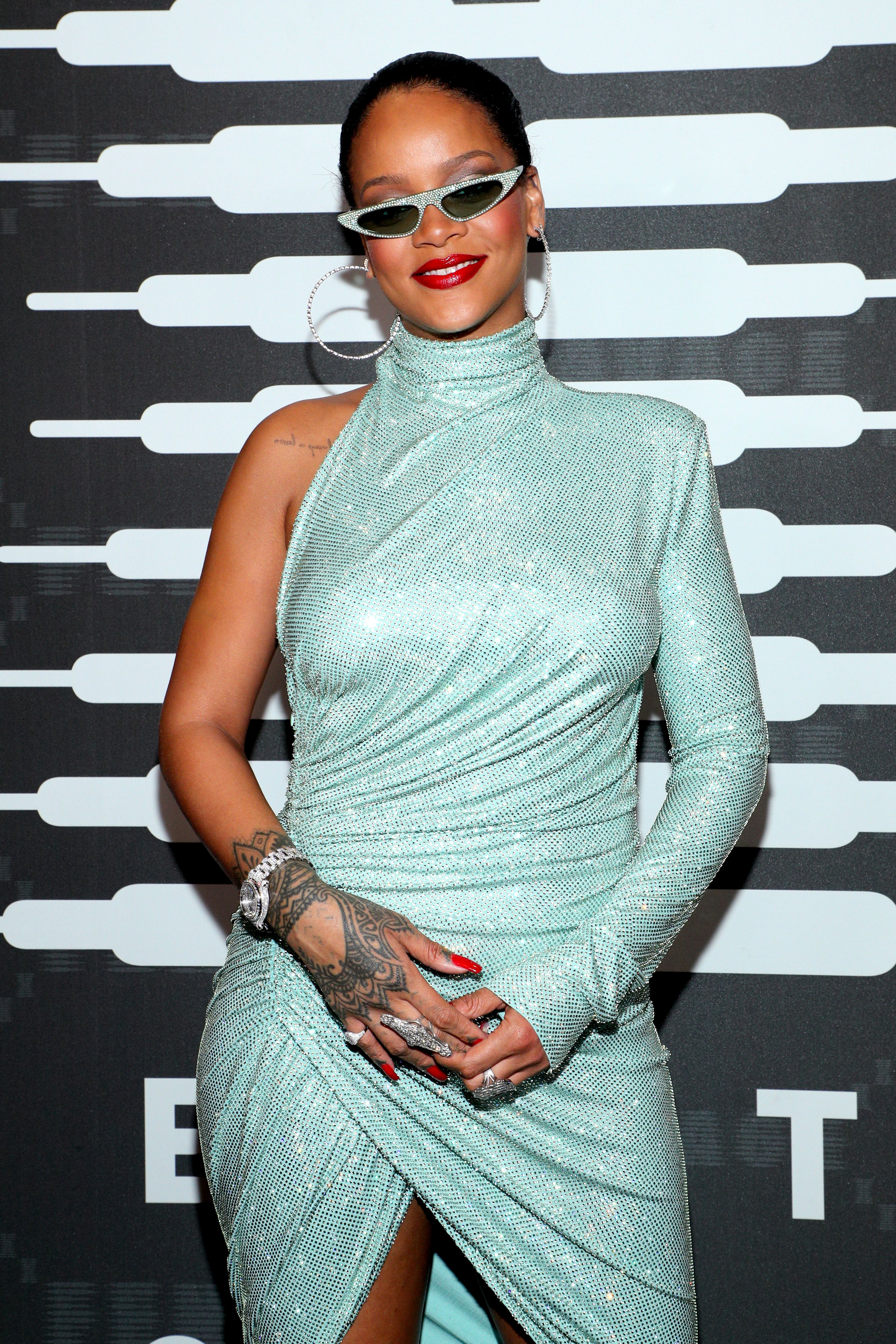 RihannaSavage x Fenty show, Arrivals, Spring Summer 2020, New York Fashion Week, USA - 10 Sep 2019