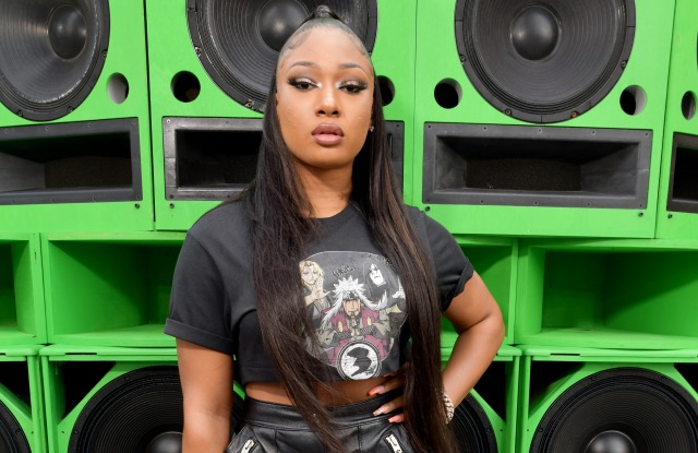 Megan Thee Stallion in the front rowCoach 1941 show, Front Row, Spring Summer 2020, New York Fashion Week, USA - 10 Sep 2019Wearing Coach