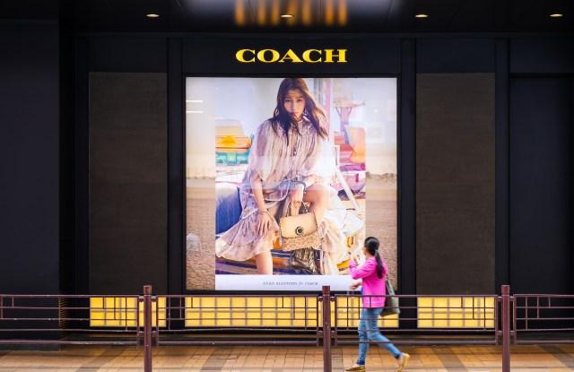 Coach store Hong Kong