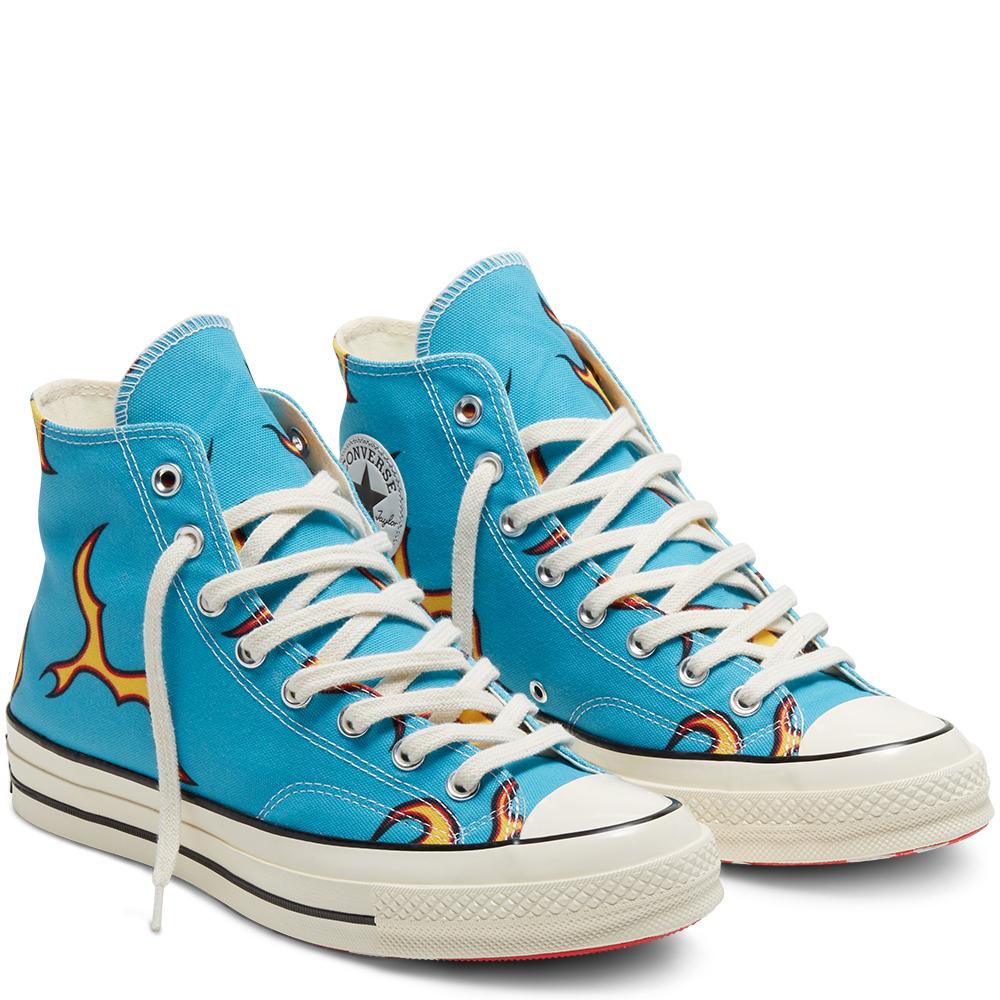The Converse x Golf Le Fleur Flames sneaker