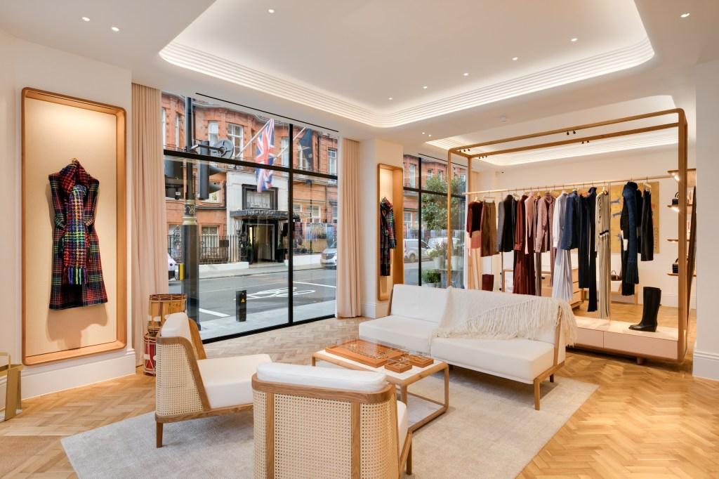 Inside the Gabriela Hearst London store