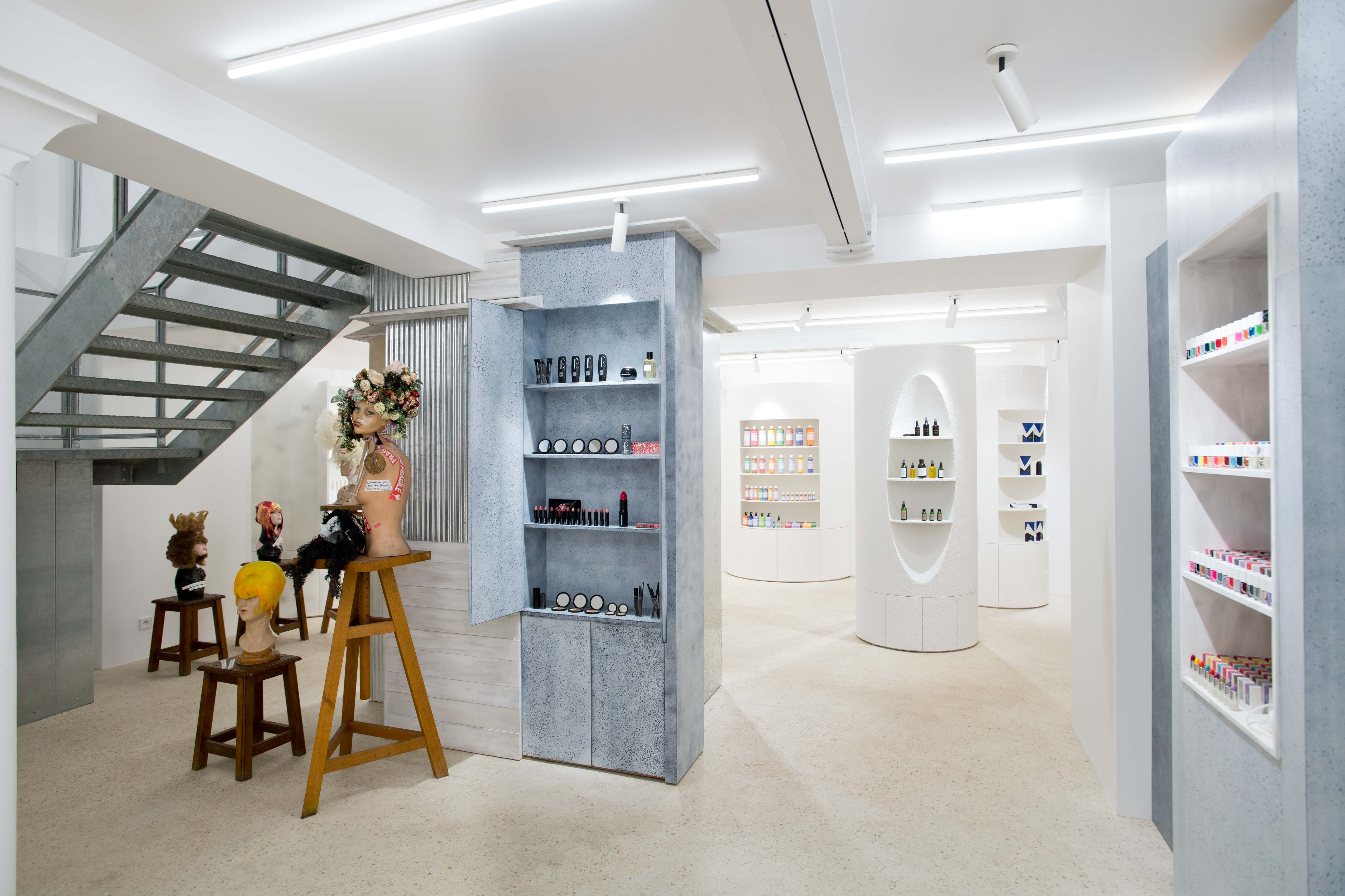 Inside the Dover Street Parfums Market in Paris.