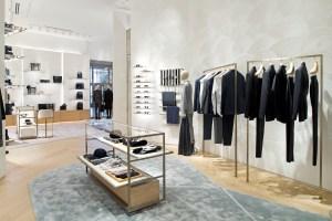 The Dior men's department.