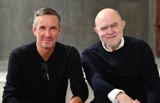Dries Van Noten and Christian Lacroix