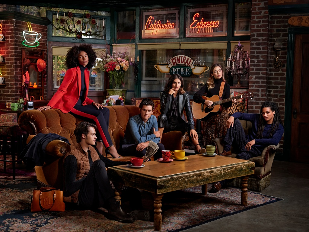 The Ralph Lauren Wear-to-Work collection is based on the Friends television series.