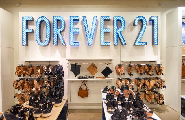 Forever 21 Declares Bankruptcy