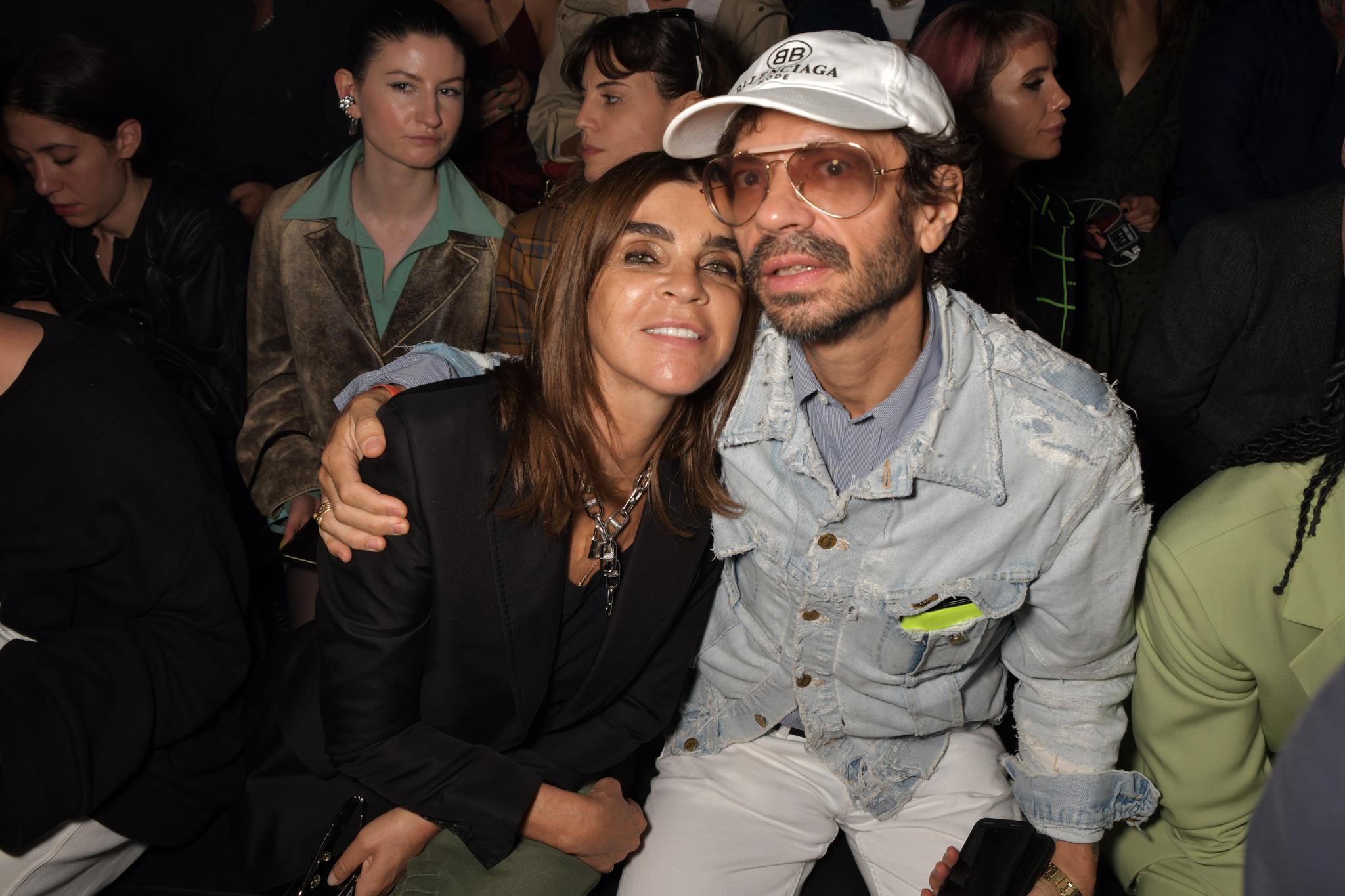 Carine Roitfeld and Olivier Zahm