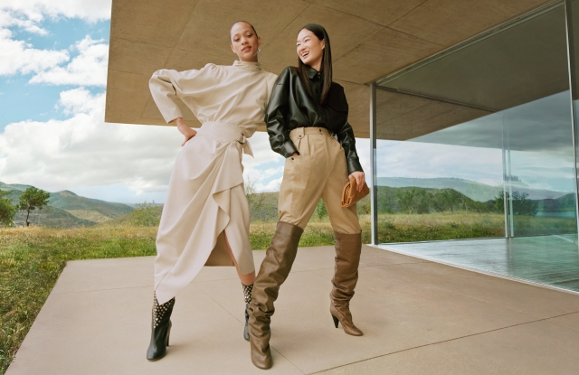 A visual from Net-a-porter's fall 2019 campaign