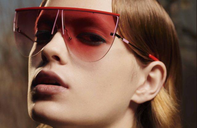 Emilio Pucci fall 2019 eyewear ad campaign.