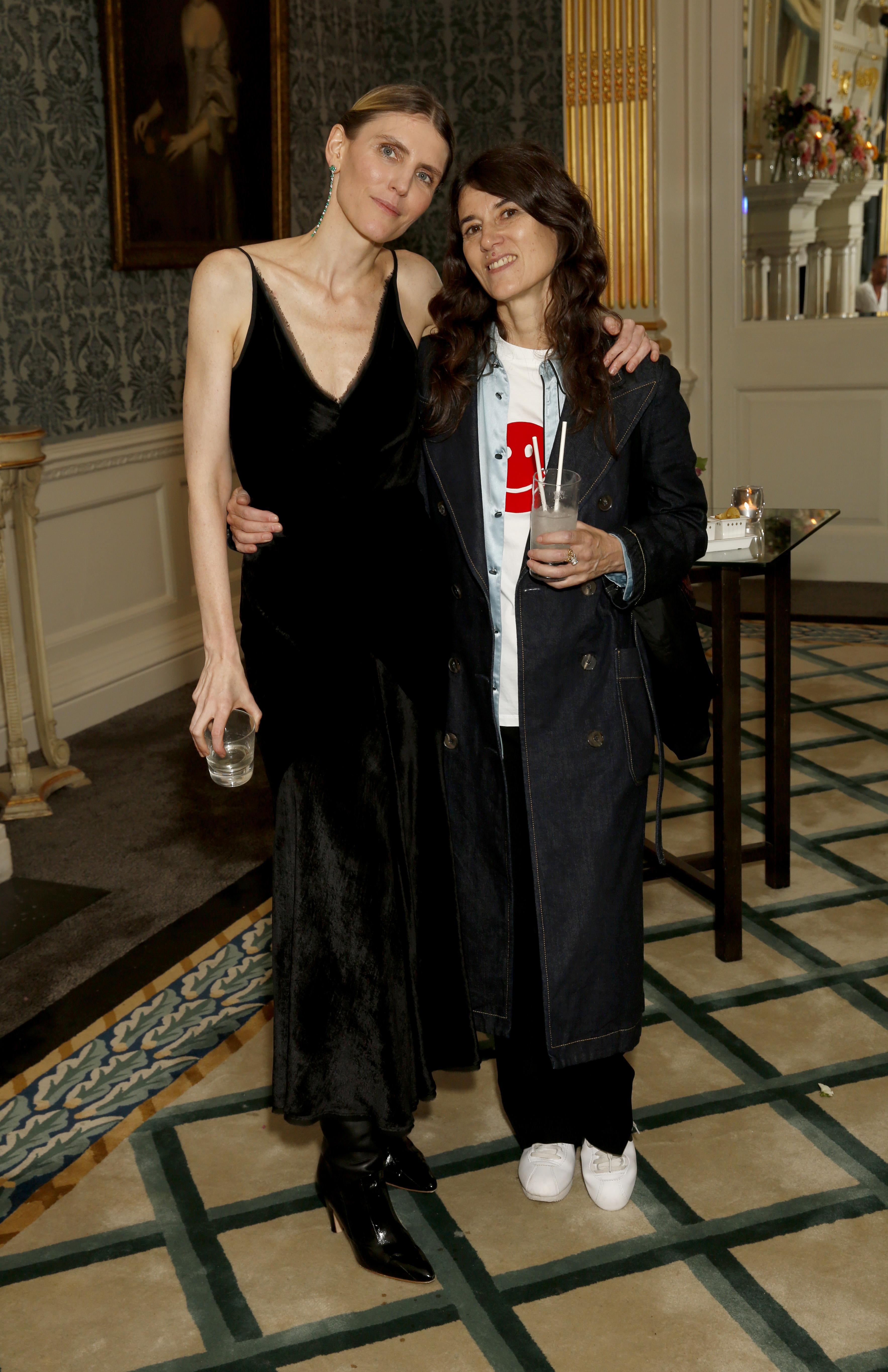Gabriela Hearst and Bella Freud