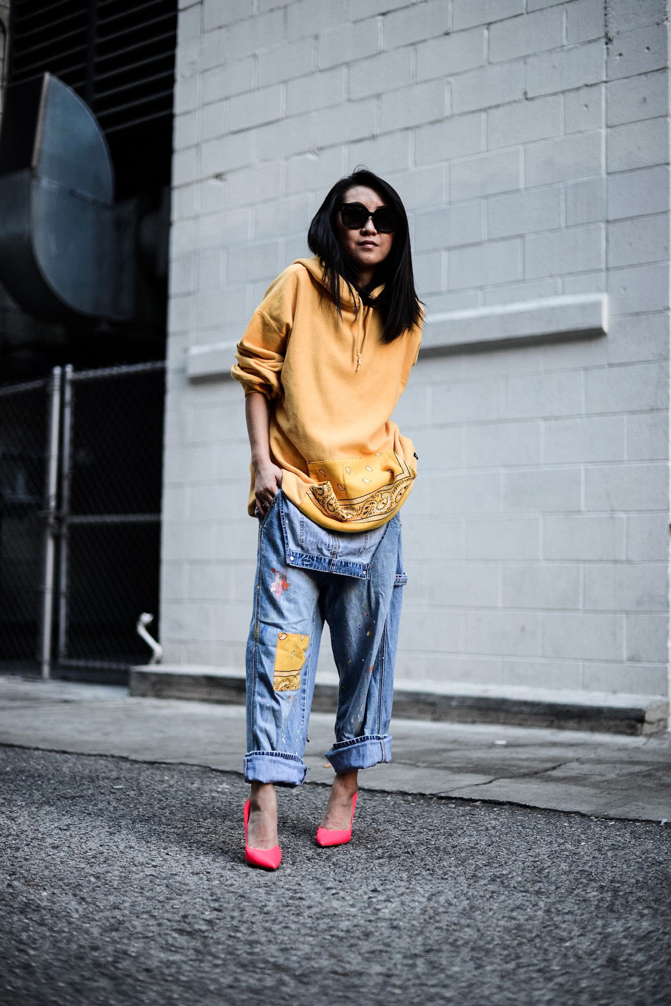 A look from the Gap x Atelier & Repair collection.