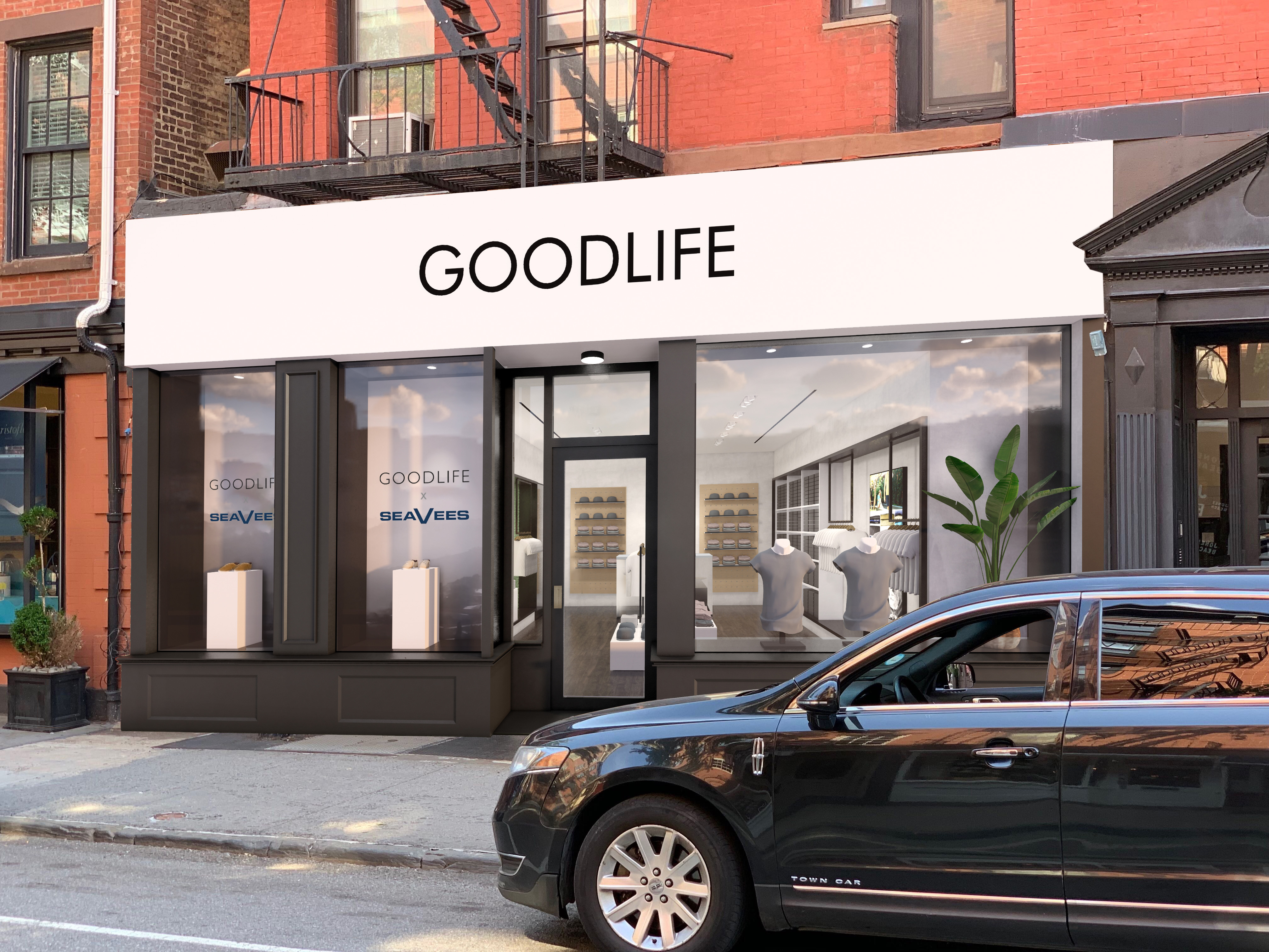 A rendering of the Goodlife Bleecker Street store.