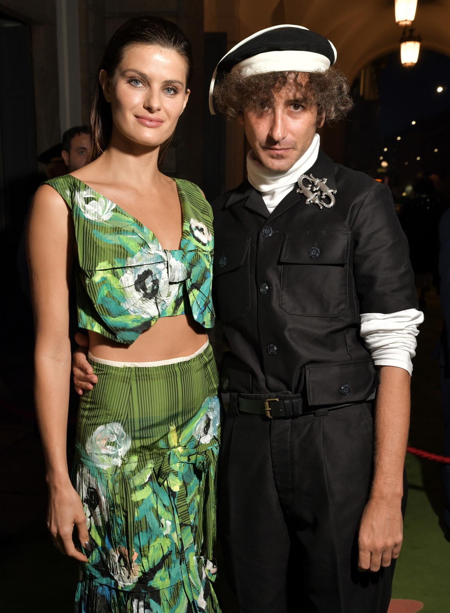 Isabeli Fontana and Francesco Risso