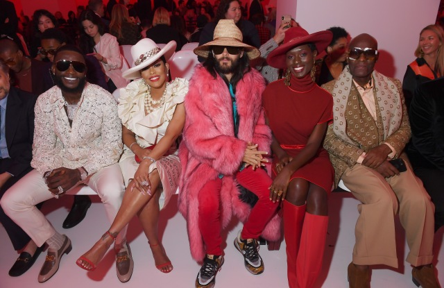 Gucci Mane, Keyshia Ka'oir, Jared Leto, Jodie Turner-Smith and Dapper Dan