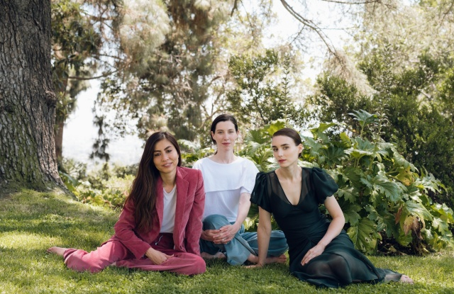 Chrys Wong, Sara Schloat and Rooney Mara, all in Hiraeth.