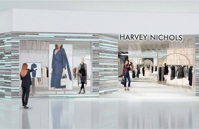 Harvey Nichols' Pacific Place store rendering.