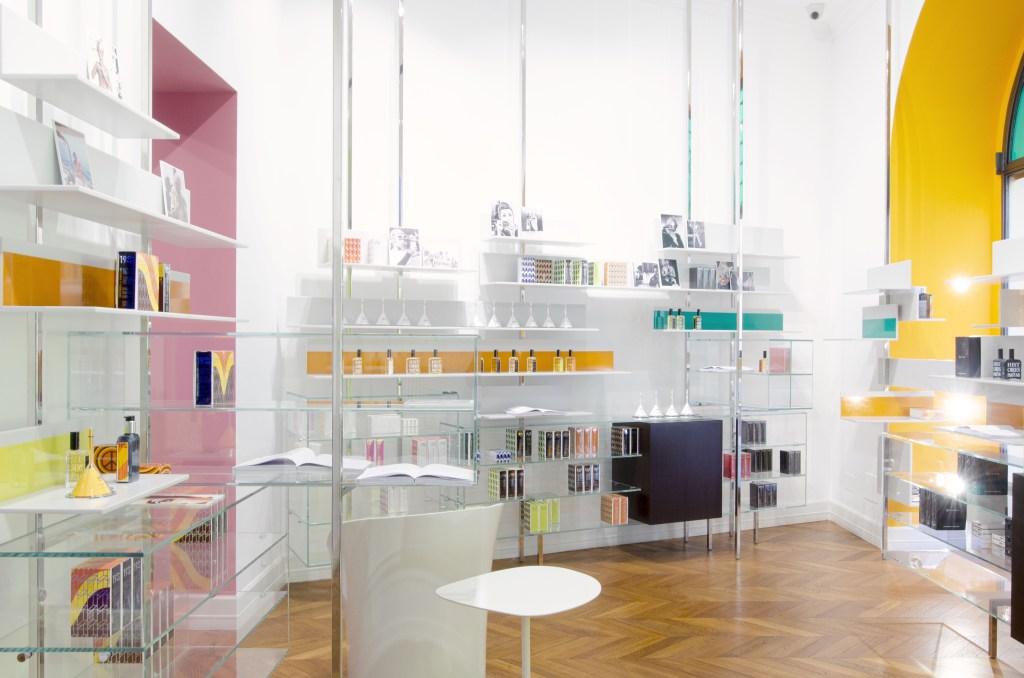 The Histoires de Parfums pop-up store.